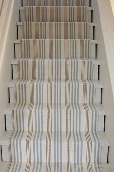 How to Redo Basement Stairs on a Budget with Indoor Outdoor Stair Runners