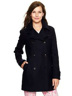 I love a good peacoat, especially when the #gap makes it in tall sizes!
