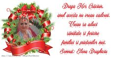 Felicitari cu poza profile facebook | Craciun | felicitaripersonalizate.com Online Gratis, Facebook, Christmas Ornaments, Holiday Decor, Home Decor, Decoration Home, Room Decor, Christmas Jewelry, Christmas Baubles