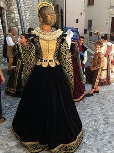 Traditional festival at Monteleone di Spoleto, Umbria