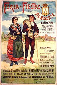 Cartel Feria Albacete 1921