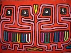 Kuna Indian Tribe Bird Mola Panama San Blas-12.68033