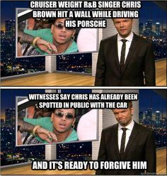 Chris Brown, on the Soup