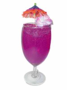 Purple Passion Cocktail  1 PART SMIRNOFF VODKA  FILL WITH: GRAPE JUICE ORANGE JUICE TOP WITH 7-UP GARNISH WITH : LEMON,LIME, AND A CHERRy