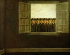 René Magritte. Le mois des vendanges, 1959. More At FOSTERGINGER @ Pinterest