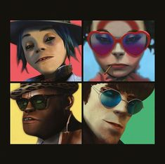 The fifth album by Gorillaz may best be described as a mixtape, consisting as it does of 20 tracks tied together by a common theme determined by project leader Damon Albarn. Damon Albarn, Art Gorillaz, Gorillaz Albums, Murdoc Gorillaz, Jamie Hewlett, Noel Gallagher, I Love Music, Music Is Life, Rock Music
