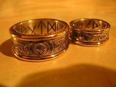 Runic Wedding Rings