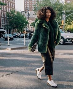 Meet the star of Michael Kors' very first street-styled campaign #SidewalkSpotted ...Solange Knowles! ✊