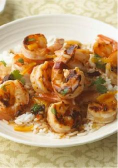 Chipotle-Orange Shrimp – Chipotle peppers, orange marmalade, and fresh cilantro awaken the taste buds in our zesty shrimp and rice dish!