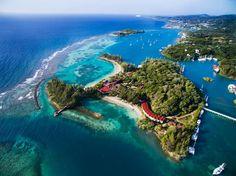 Roatan Isle, Honduras.