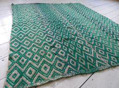Coco Peruvian Rug or Blanket Handspun & handwoven by Chirapa, £185.00