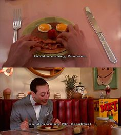 Peewee Herman's Big Adventure-i used to watch this movie ALL THE TIME