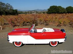 1960 Nash convertible - SOLD - Click for Detailed Exterior Photo Gallery