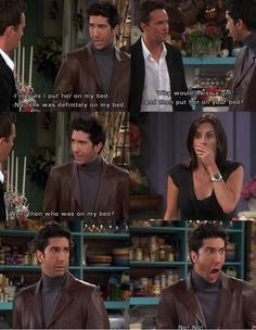 Ross Geller and Monica Geller