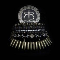 "RDB ""Black"" spikes bracelet by ROYAL BEAST DESIGN – JAANTE-SHOWROOM.COM  #royalbeastdesign #swissbrand #handmade #jewellery #madeinswitzerland #casual #chic #bracelet #ethnic #musthave #sustainable #jaanteshowroom #ecofriendly #pulsera Spike Bracelet, Handmade Jewellery, Spikes, Casual Chic, Showroom, Beast, Ethnic, Bracelets, Jewelry"