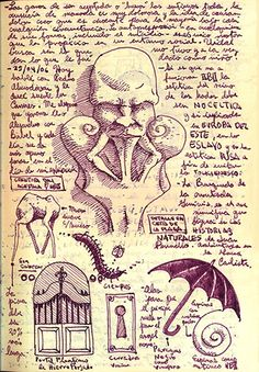 Guillermodeltorosketches: Guillermo Del Toro sketches