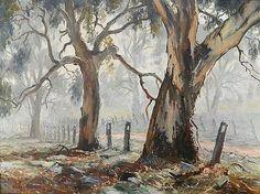 Misty Morning near Tumut by Terry Gleeson