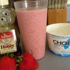 My teenage son is the smoothie king~he likes to purchase them in smoothie shops and he likes to make them. He makes strawberry smoothies mostly because that's one of the fruits that we harvest in abundance in the spring. If we don't have bananas, he just adds more strawberries.