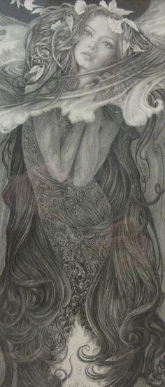 Ed Org Rhinegold Fantasy Mermaids, Mermaids And Mermen, Magical Creatures, Sea Creatures, Mermaid Tale, Mermaid Mermaid, Mermaid Pictures, Vintage Mermaid, Illustration