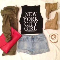 Stylosis.com | New York City Girl by FashionBloggers #NYC #Fashion #OOTD Casual outfit Summer
