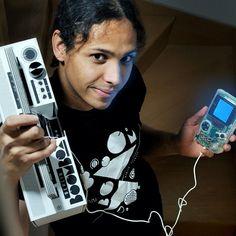 berlinboombox #Gameboy + #Berlinboombox = <3 French #Chiptunes Artist Ultrasyd makes #8bit music with a Gameboy & Amiga #trueoldschool #newoldschool video and mixtape coming soon!