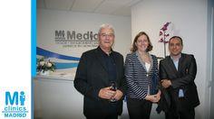 Noel Agius, Director de Operaciones de Mi Medical, Blanca Sánchez, de Infranet, y Julio Ortega, experto en franquicias