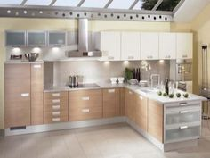 Diseños de muebles de cocinas de melamina modernos-2