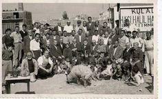Bahçelievler (Kulalı Hacı Halil) Camii'nin temel atma töreni (1951 civarı)