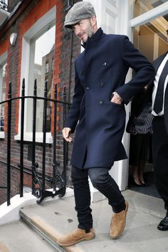 David Beckham - fall style