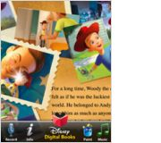 Toy Story 3 Read-Along App Toy Story 3 Read-Along is an interactive storybook based on Disney's hit film. Free of any dubious content, its story and activities are safe for children even younger than the film's audience, though some parts of the app may prove a bit challenging for preschoolers to master.