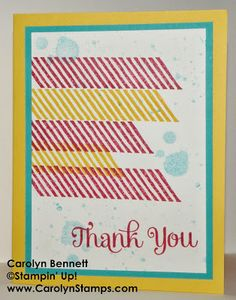 Carolyn's Paper Fantasies Gorgeous Grunge Carolyn Bennett Stampin' Up! card sketch challenge