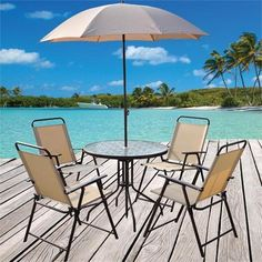 Doral Designs Panama 6 Piece Outdoor Dining Group | ON SALE $99.88 #patio # Furniture