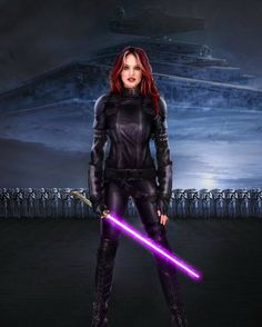Mara Jade - love to see one of the new movies be about her.