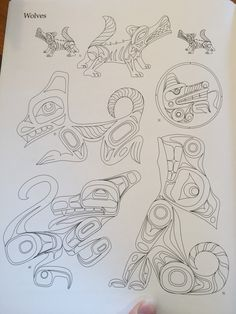 Haida design Native American Images, Native American Symbols, American Indian Art, Haida Gwaii, Haida Art, Native Design, Feather Painting, Canadian Art, Indigenous Art