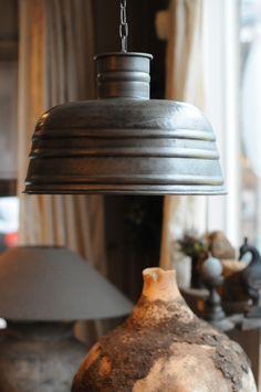 ijzeren hanglamp