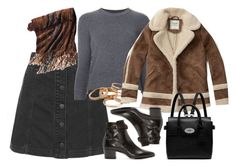 """""""Untitled #5987"""" by rachellouisewilliamson on Polyvore featuring Topshop, Alexander McQueen, Yves Saint Laurent, Kendra Scott, Abercrombie & Fitch, Mulberry and Territory Ahead"""