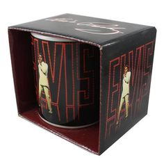 Elvis 'Comeback Special' licensed mug...available www.popgifts.ie