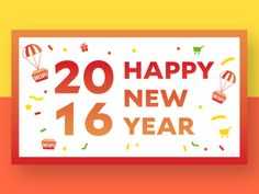 2016 New Year Greeting card