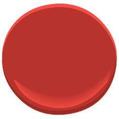 million dollar red 2003-10 Paint - Benjamin Moore million dollar red Paint Color Details