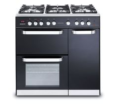 Kenwood Ck305g Gas Range Cooker Black New Kitchen