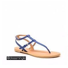 Cobalt blue S-S-Snake skin sandals only $12 TODAY! WE SHIP! #dressmingle #sotd #dealoftheday #halfoff #snakeskinshoes #shoes #boutique #louisiana