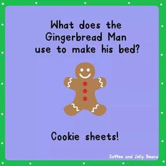 Funny Jokes Christmas Gingerbread man Silly Jokes Kid Jokes Dad Jokes - You are in the right place about Silly Jokes for him Here we offer you the most beaut Funny Riddles, Cute Jokes, Jokes And Riddles, Corny Jokes, Funny Jokes For Kids, Funny Puns, Dad Jokes, Haha Funny, Hilarious