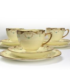 Vintage Bone China Tea Cup and Saucer and by VintageCuriosityShop, £15.00