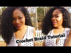 Sensationnel X-Pression Party Curl Crochet Hair Installation| Lia Lavon - YouTube #CrochetBraids #crochethairinstall #crochethair