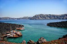 GREECE CHANNEL | The Santorini Volcano Caldera (Cyclades, Greece) by Yasmine DG on 500px