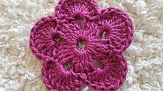 Crocheted flower 43