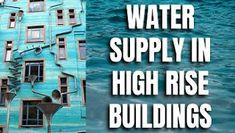 Water Supply in High Rise Buildings,water supply,water supply system,water supply network, #WaterSupply #HighRiseBuildings #watersupplysystem #multistoreybuildings #archicrewindia Slow Drain, High Rise Building, Water Storage, Air Conditioning System, Water Supply, Water Flow, Skyscraper, Buildings, Skyscrapers