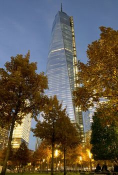 This building is incredible and absolutely massive! WTC, New York City.