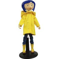 Coraline Bendy Doll in Rain Coat