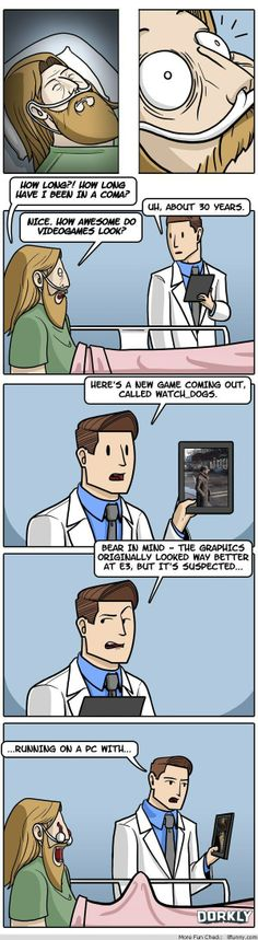Still no Half Life 3 or Fall Out 4 // funny pictures - funny photos - funny images - funny pics - funny quotes - Funny Jokes To Tell, Funny Memes About Girls, Dorkly Comics, Gamer Meme, Funny Texts Crush, Funny Love, Fall Funny, Funny Baby Clothes, Short Comics